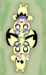 poke Twin brothers by jirachicute28