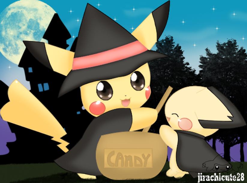pika halloween by jirachicute28