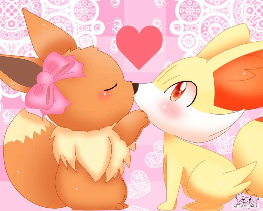 An Innocent Kiss by jirachicute28