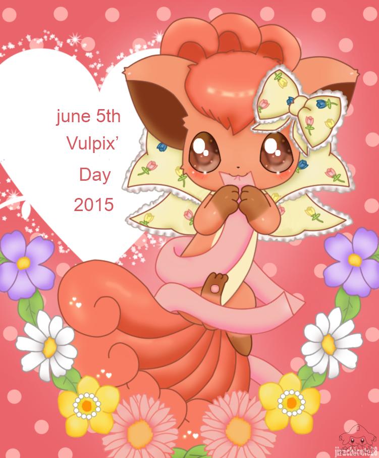 Vulpix Days 2015 by jirachicute28