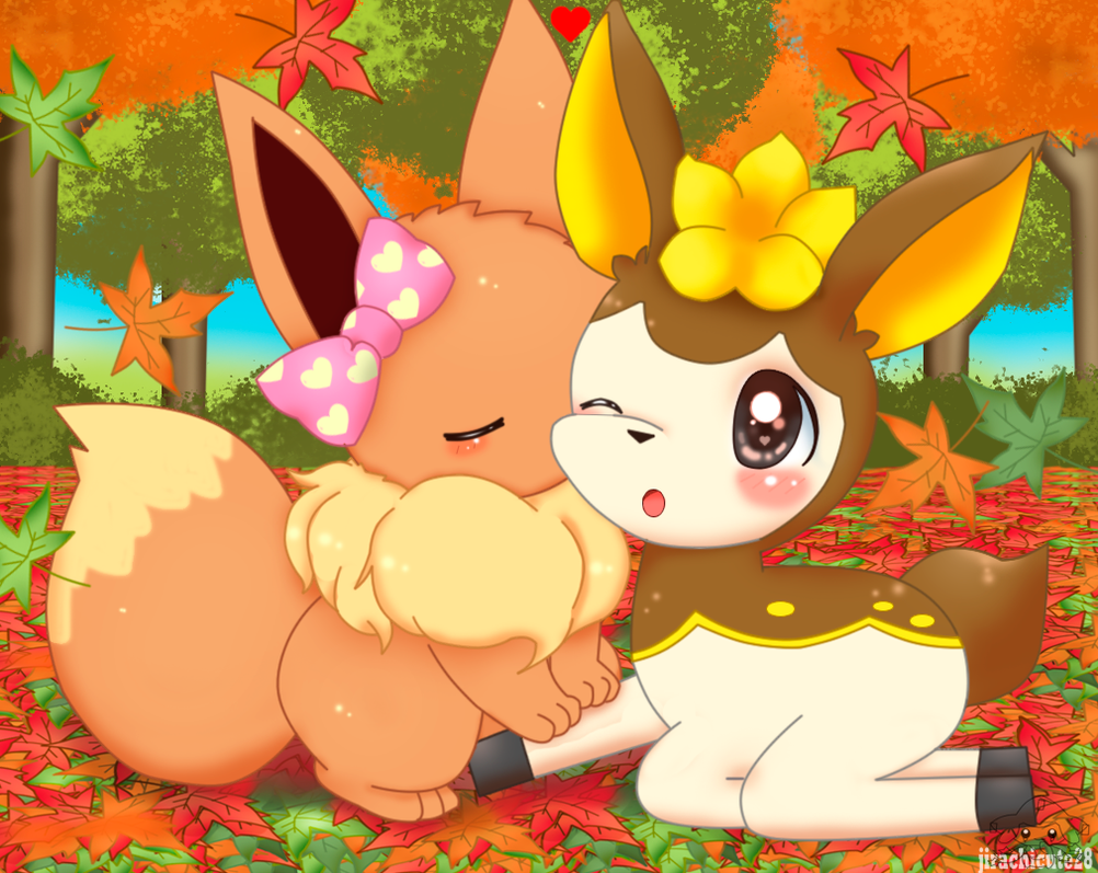 Love In Autumn by jirachicute28