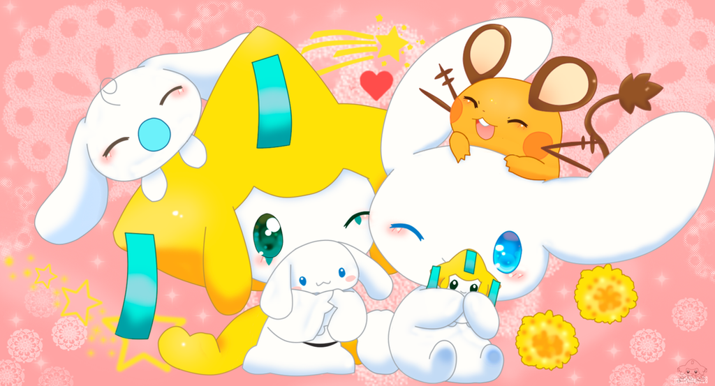 Jirachi and cinnamoroll by jirachicute28 on deviantart - Jewelpet prase ...