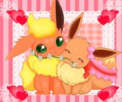 haru and ribbon by jirachicute28