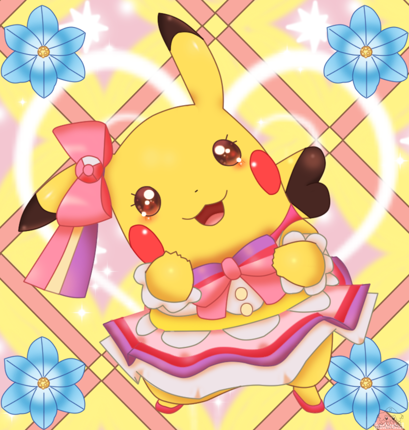 Pokemon Coloring Pages Pikachu Pop Star