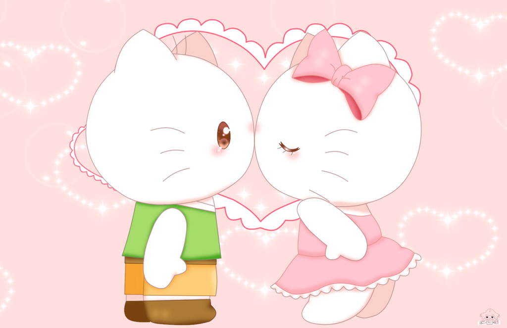 Kitty And Daniel by jirachicute28