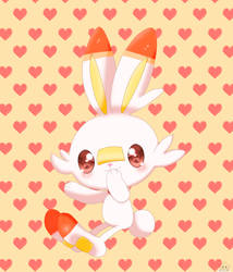 Scorbunny by jirachicute28