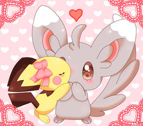 Pichu used sweet kiss
