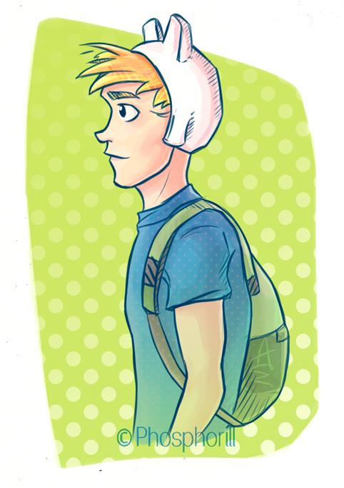 Adventure Time Finn by Dapper-Rabbit