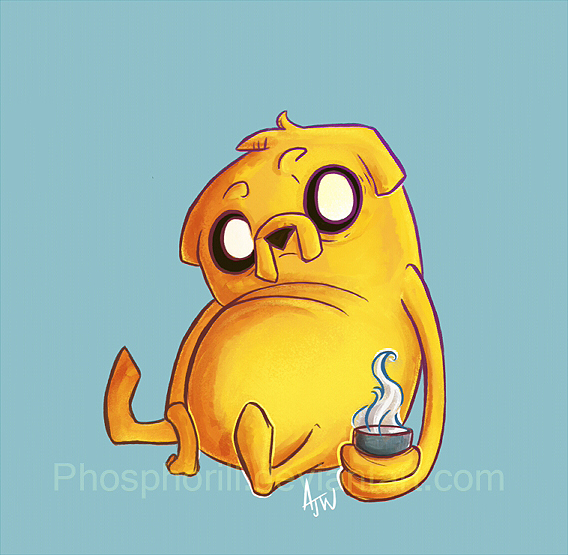 Jake the Dog by Dapper-Rabbit
