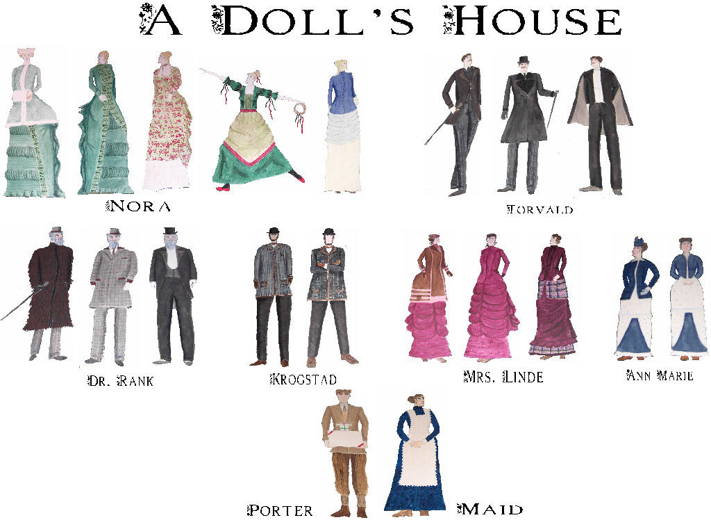 Character Analysis For Costume Design : Costume design a doll s house by joanne donn on deviantart