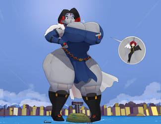 Supreme Titan Prime Ultimate Raven by ValGaavTheDragon