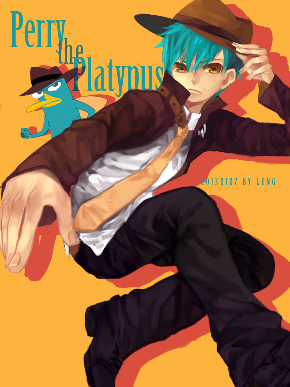 Perry the Platypus by LengYou on DeviantArt