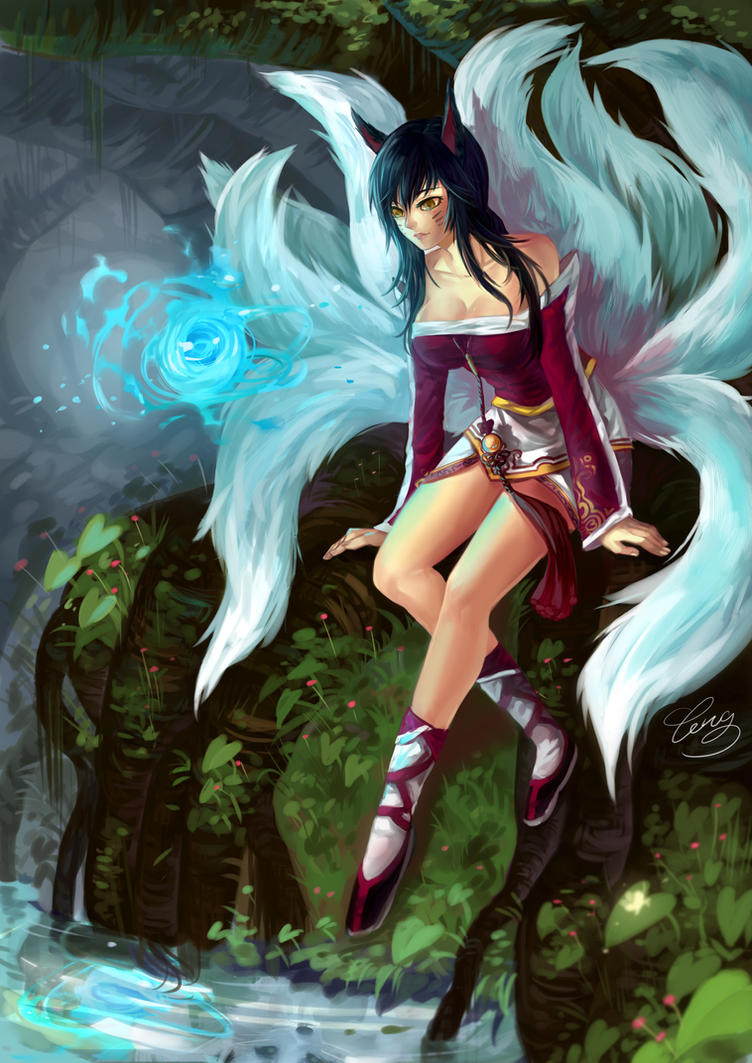 League of Legends - Ahri by LengYou