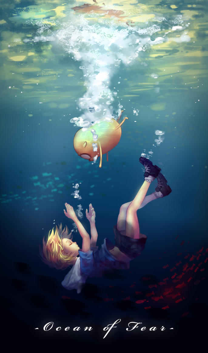 Adventure Time - Ocean of Fear by LengYou on DeviantArt