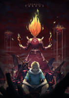ADVENTURE TIME - The Red Throne by LengYou