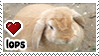 Lop Rabbits stamp by everyday-im-wumboing