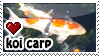 Koi Carp stamp by everyday-im-wumboing