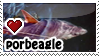 Porbeagle sharks by everyday-im-wumboing