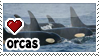Orcas stamp by everyday-im-wumboing