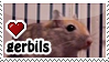 Gerbils stamp by everyday-im-wumboing