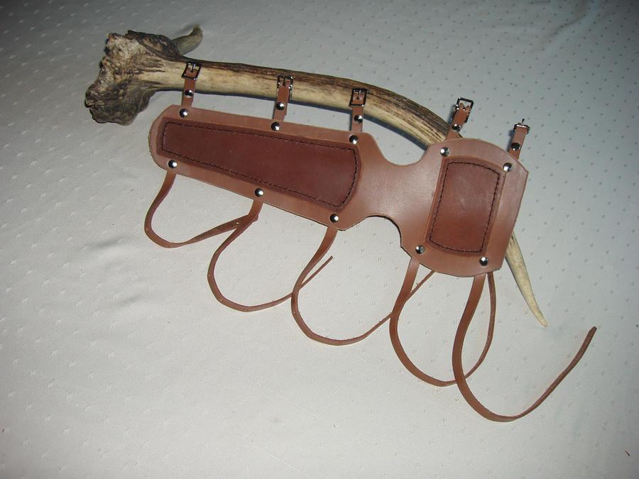 Long Archery Bracer by boogerscat1