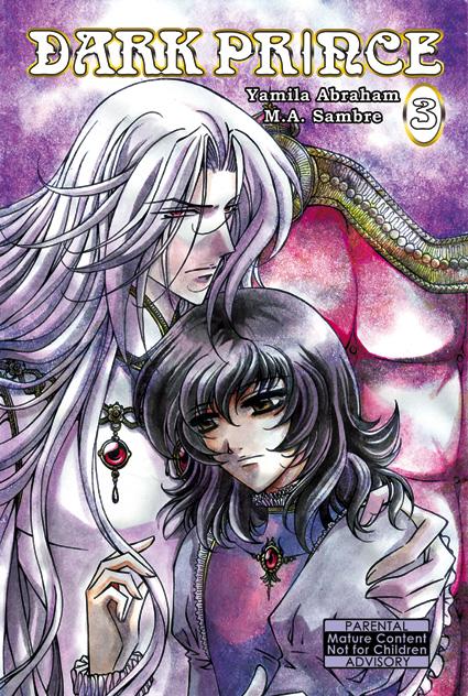 Dark Prince vol.3 cover +BL+ by Sambre-sambre