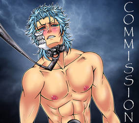 Grimmjow Leash - Commission by Marie-Angele