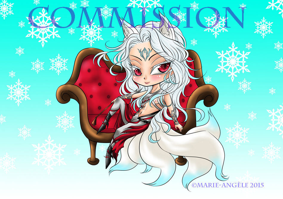 Chibi Donatien - COMMISSION - by Sambre-sambre