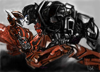 Winglite x Ironhide by Redjet by TF-connect