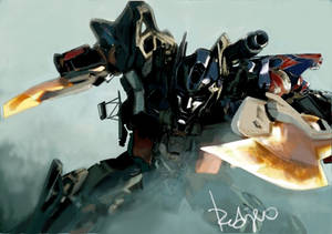Optimus Prime by Redjet