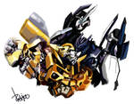 Barricade x Bee by Redjet