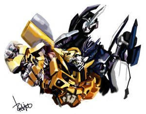Barricade x Bee by Redjet