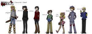 TWAM- Characters