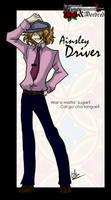 Driver Strikes a Pose