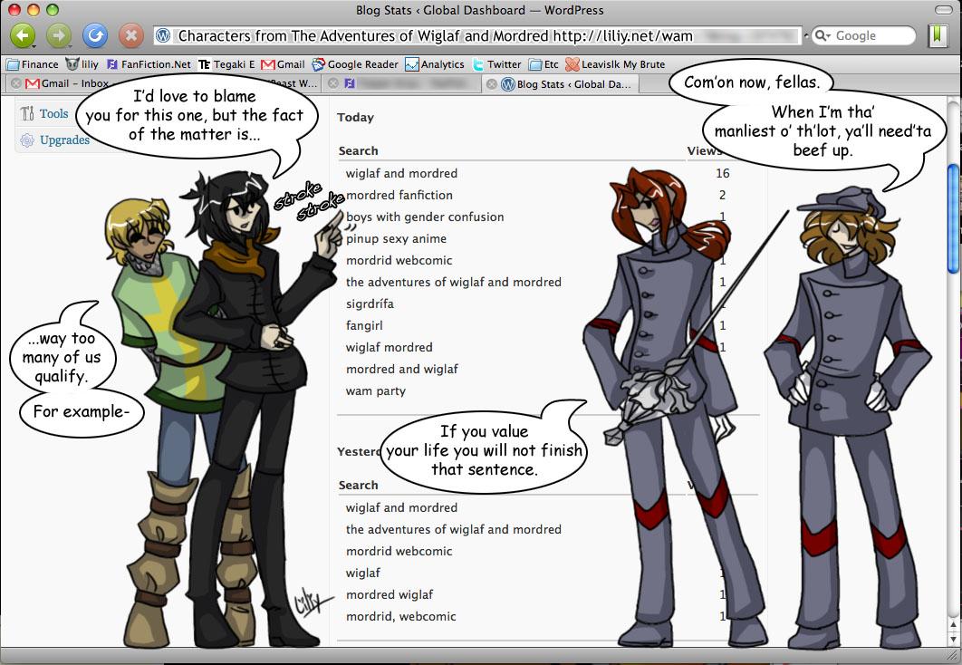 WAM - Gender Confused Boys by liliy