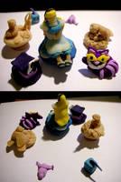 New Years Sculpey Fun by liliy