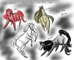Horse a Day - Dec 25 by liliy