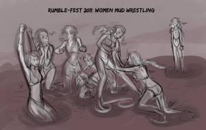 RF11 - Mud Wrestling by liliy