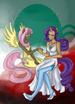 MLP - Fluttershy and Rarity