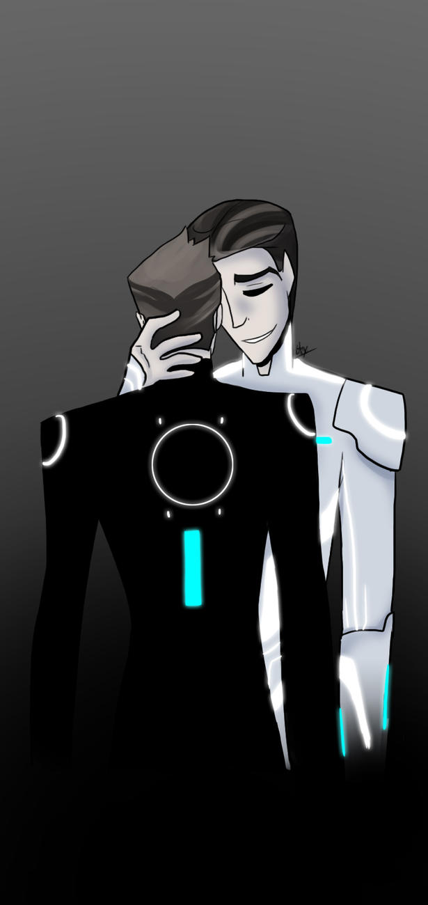 Tron - Father and Son by liliy