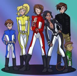 Titan Maximum - Titan Force Five...and Gibbs by liliy