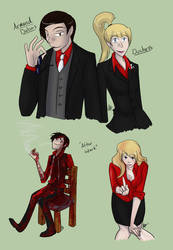 TMotOE - Armand and Duchess by liliy