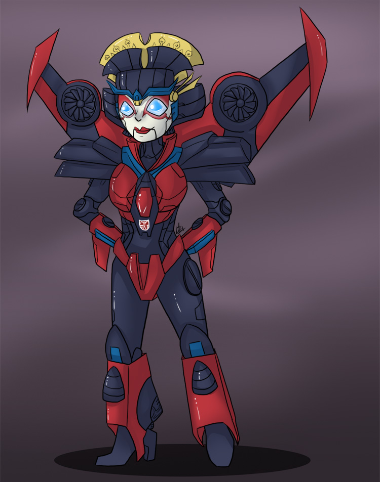 TF - Little Windblade by liliy