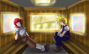 FF7 - Jessie and Cloud Date
