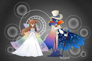 Tippi and Count Bleck (Super Paper Mario)