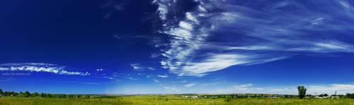 sky panorama by Saifers