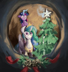 Unfinished Christmas Picture