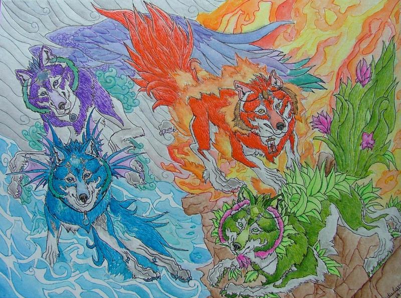 Elemental Guardians by...