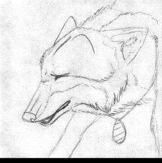 Howling Tala Wolf animation by LabradoriteWolf