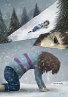 Underfell page 1 by LabradoriteWolf